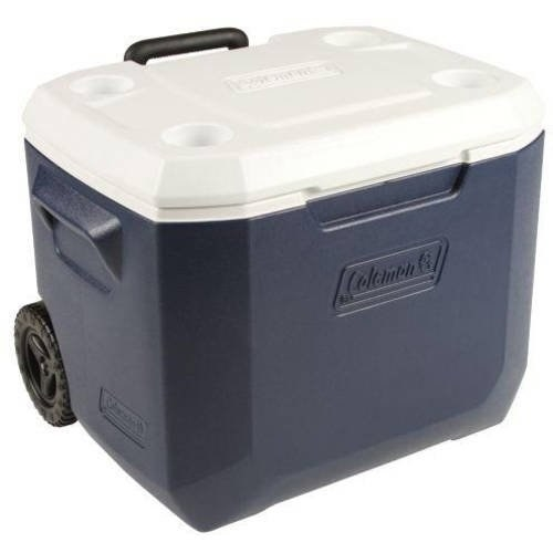 the cooler in navy blue