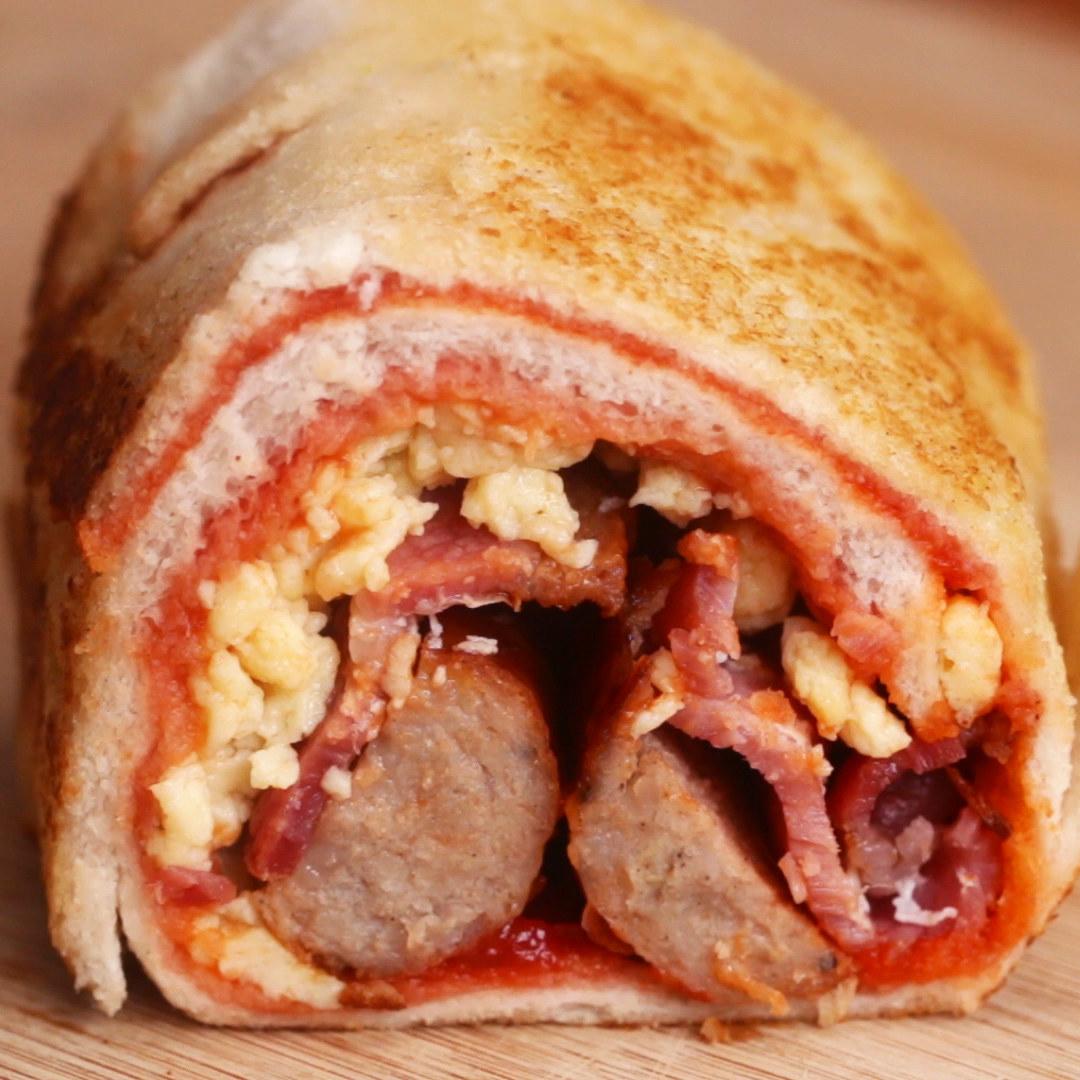 Breakfast Sandwich Roll-Up