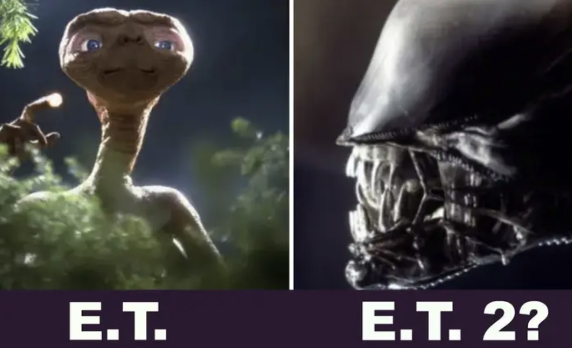 A photo of ET
