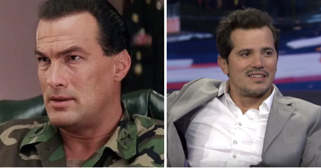 Seagal and Leguizamo side by side