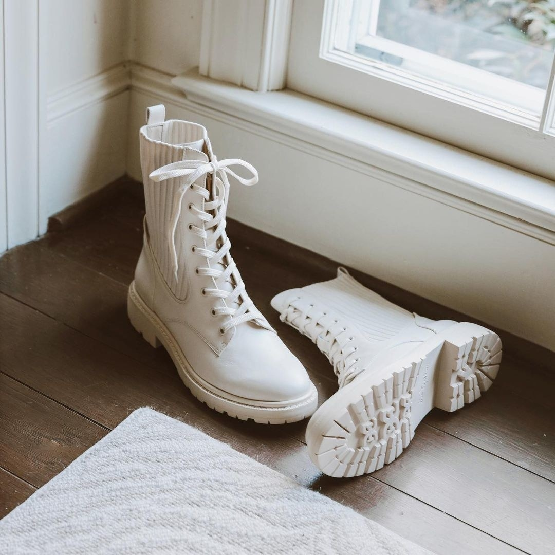 the white boots