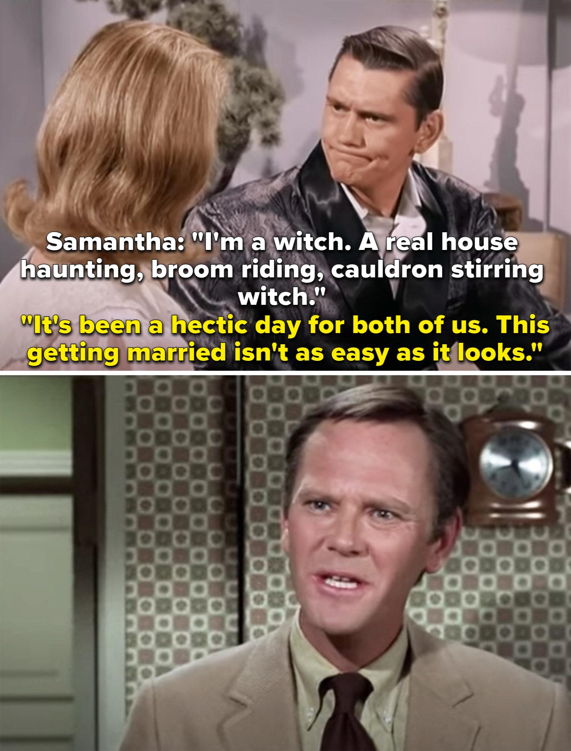 萨曼莎告诉达林她';他是个真正的女巫