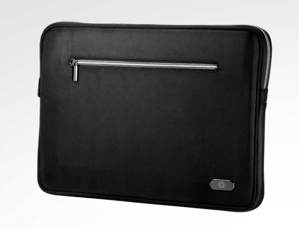 The standard black computer sleeve