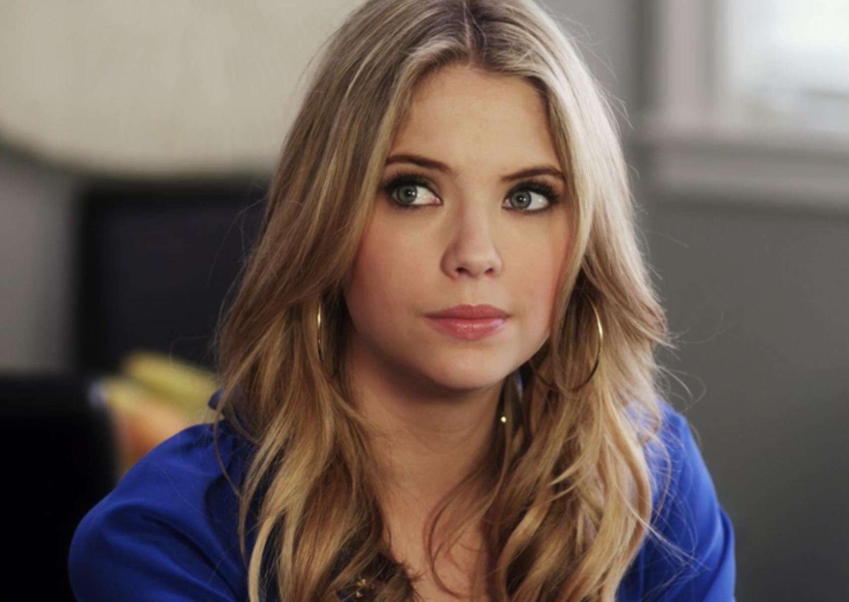 "Ashley as Hanna in ""Pretty Little Liars"""