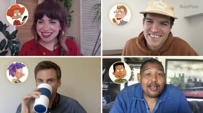 Adult voice cast of Paramount+'s all-new Rugrats