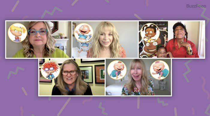Baby voice cast of Paramount+'s all-new Rugrats