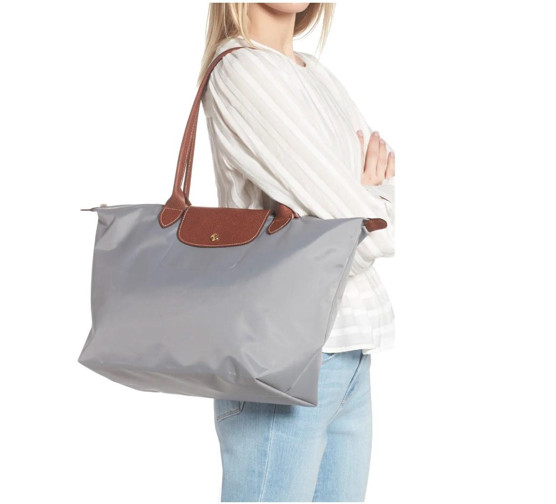 The Longchamp nylon tote