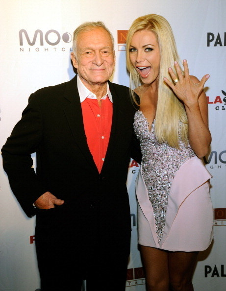 Playboy founder and model