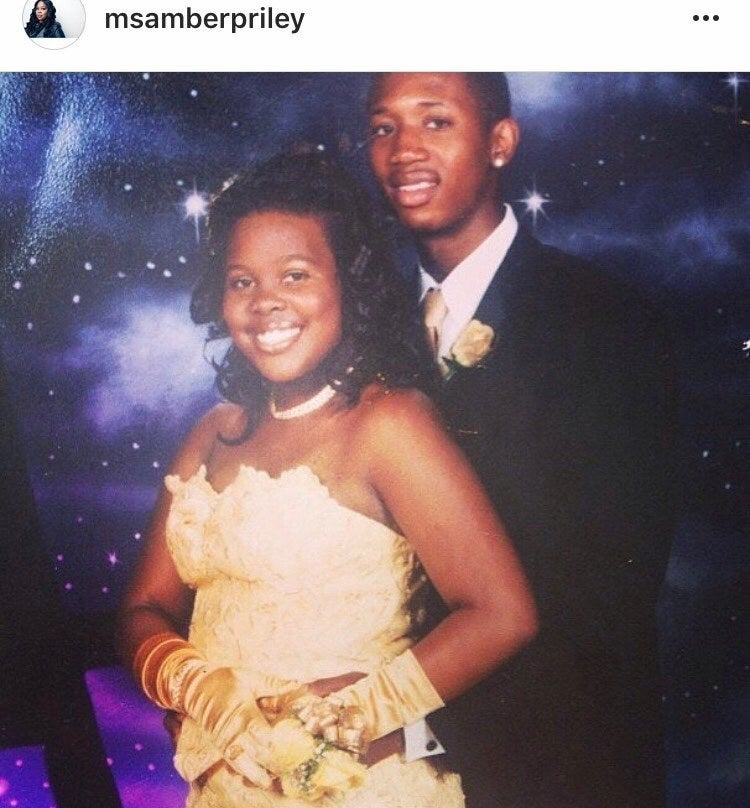 Amber's prom picture