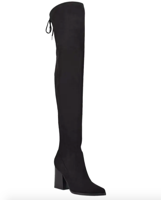 The Marc Fisher boots in black