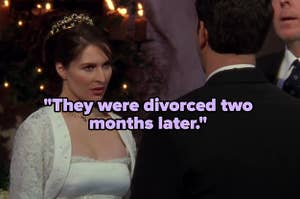 """""""They were divorced two months later"""" over an angry bride"""