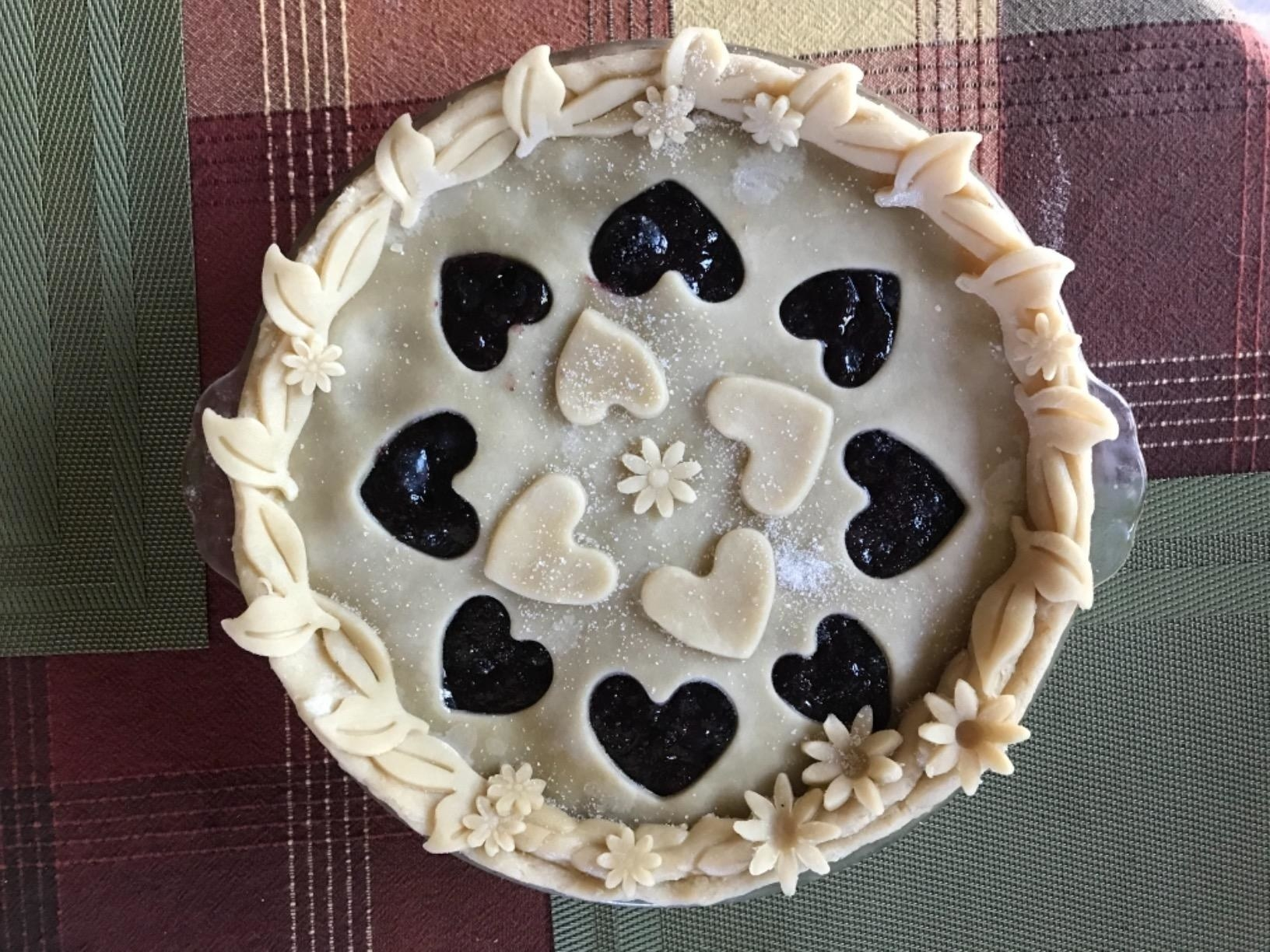 reviewer photo of pie mold