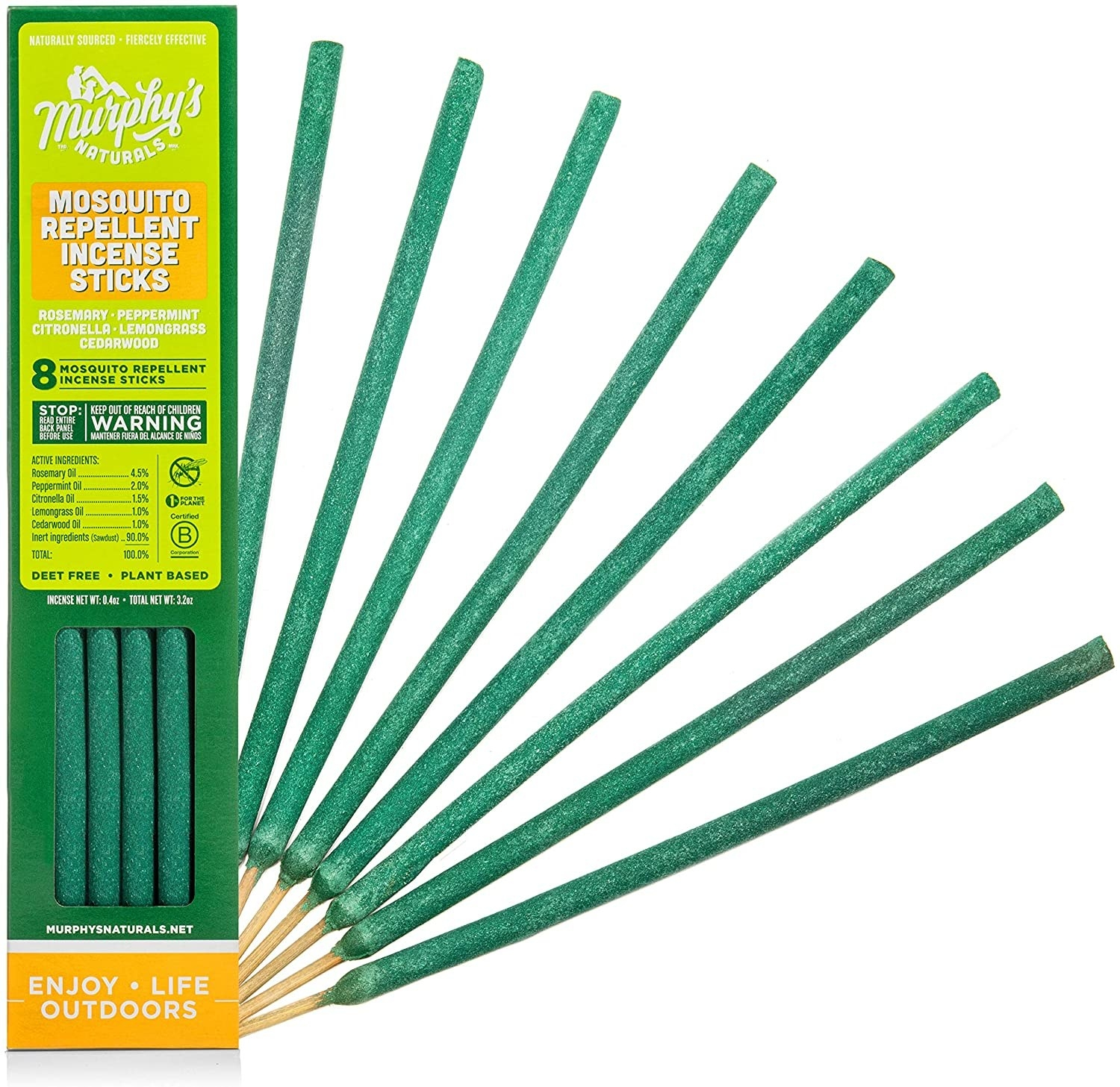 The thin green sticks in their packaging