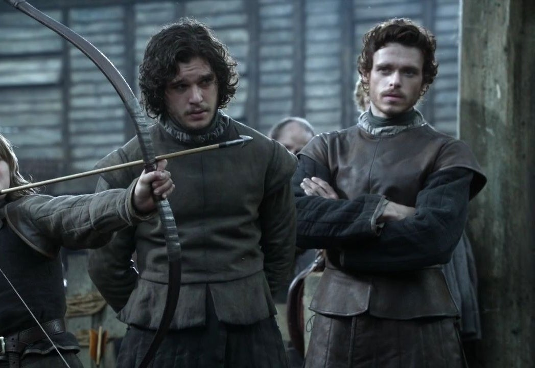 Richard Madden and Kit Harington in Game of Thrones