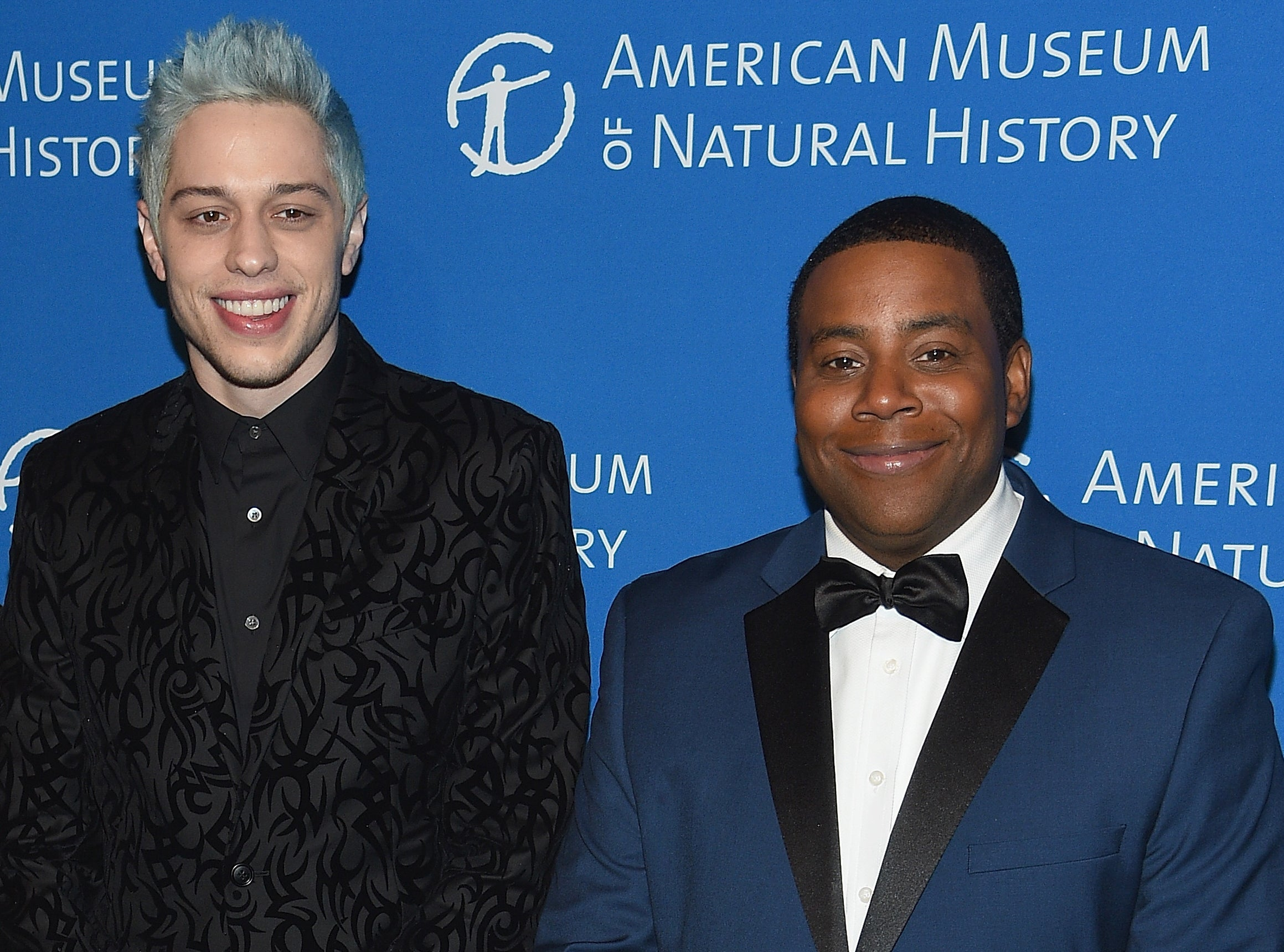 Pete stands next to Keenan at an event