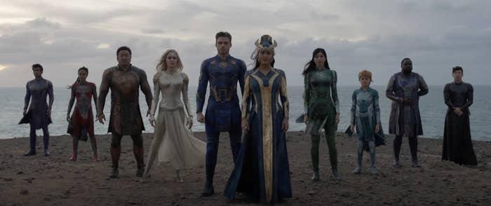 the cast of eternals