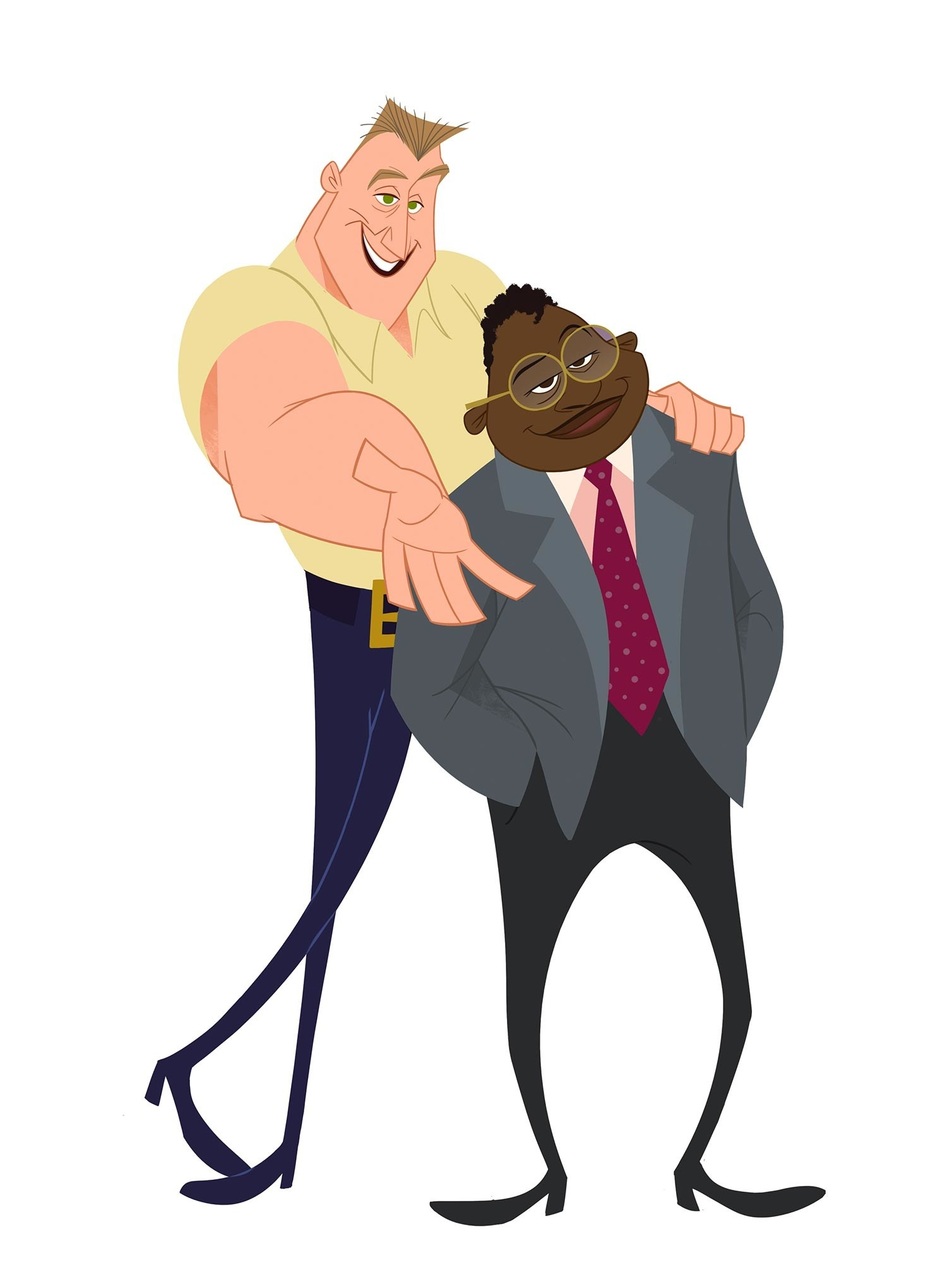 Billy porter's animated character Randall on the proud family