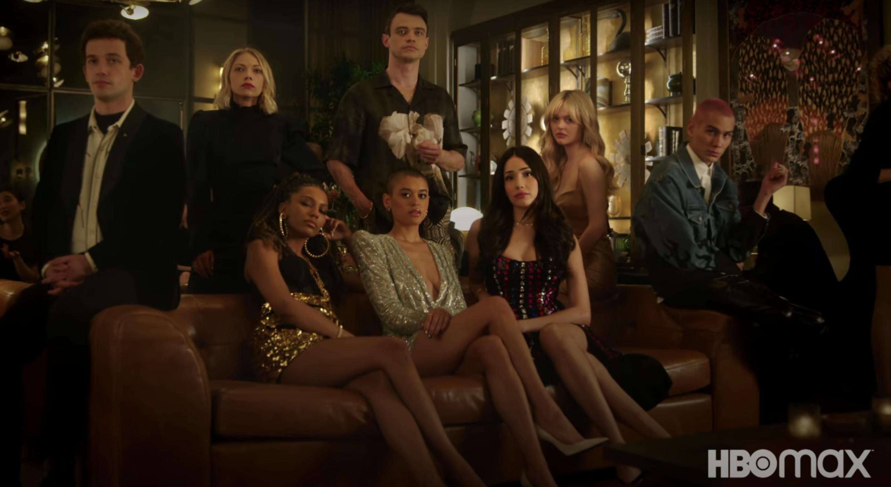 Cast of HBO Max's Gossip Girl