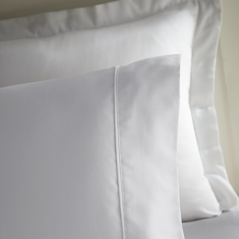 The sheets in white