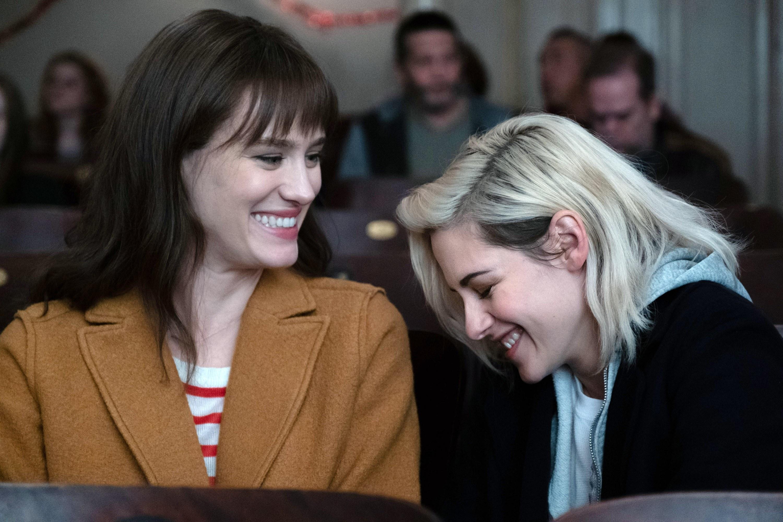 Kristen and Mackenzie laughing