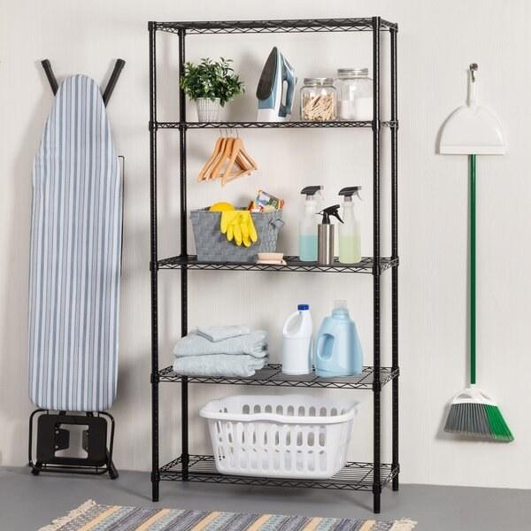 The shelf in black