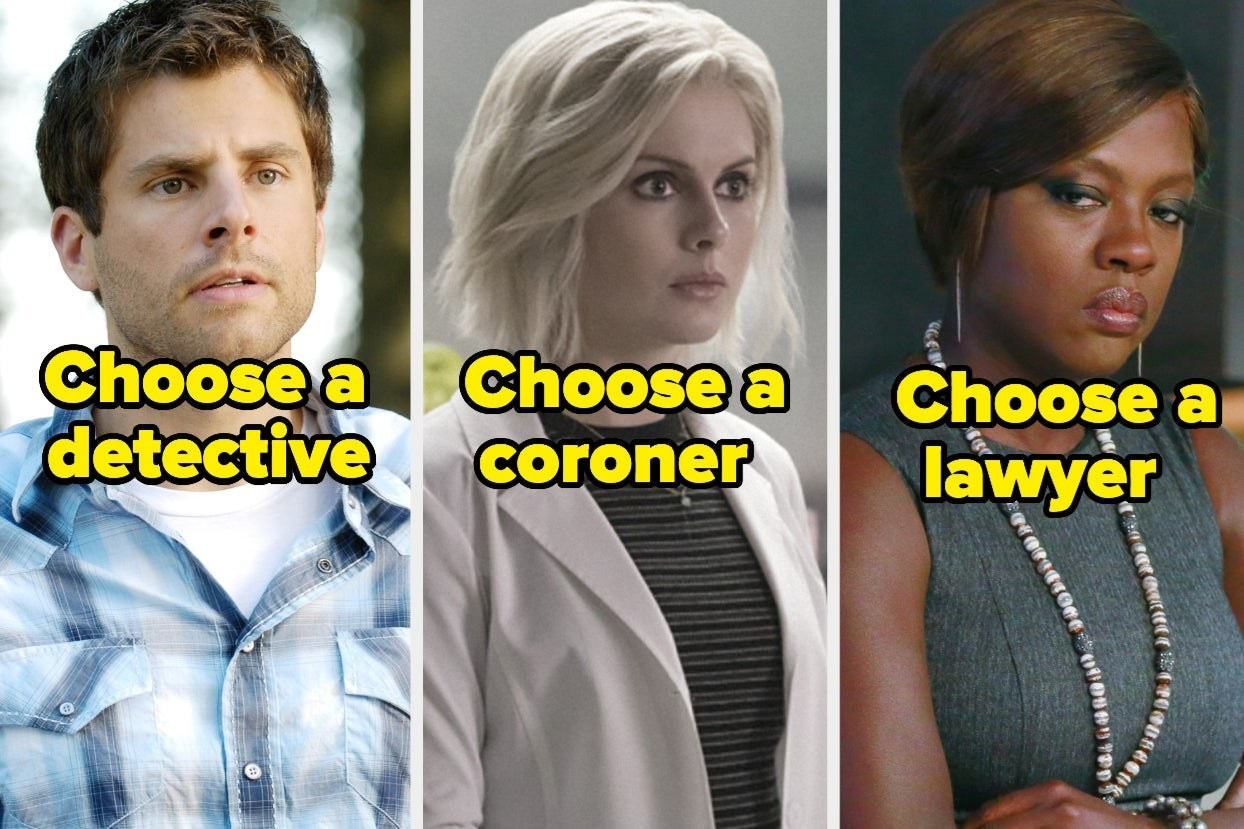 """""""Choose a detective,"""" """"Choose a coroner,"""" and """"Choose a lawyer"""""""