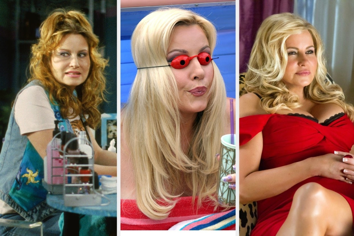 """Jennifer Coolidge in """"Legally Blonde"""", """"Cinderella Story"""", and """"American Pie"""""""