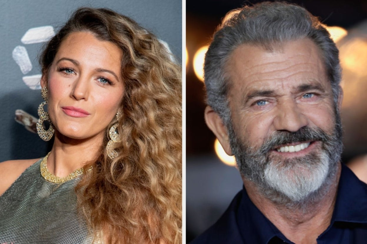 Blake Lively and Mel Gibson