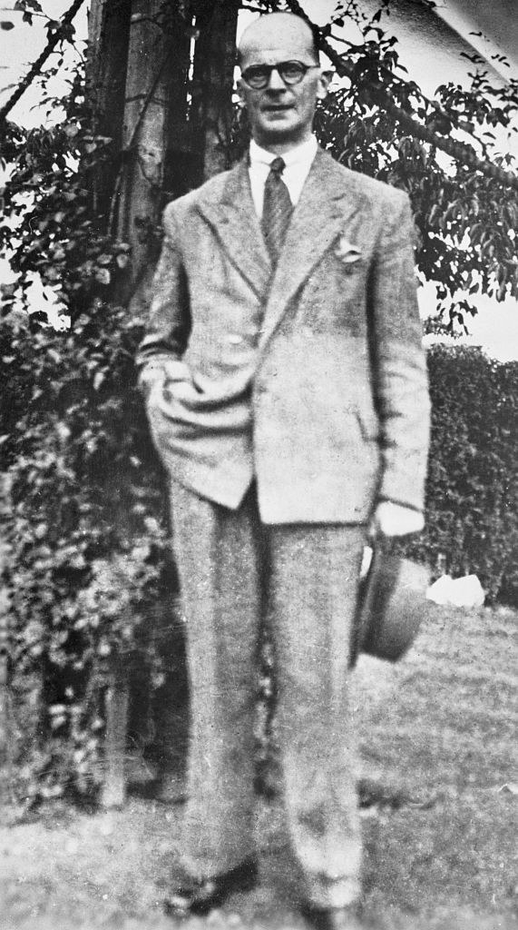 John Christie standing for a photo