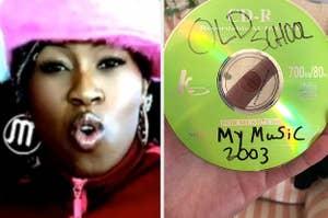 Missy Elliott in her