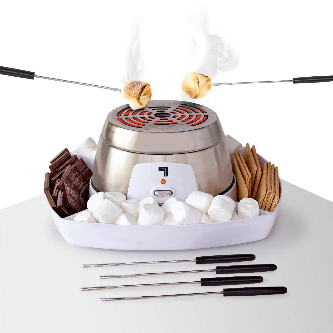 The electric S'mores maker