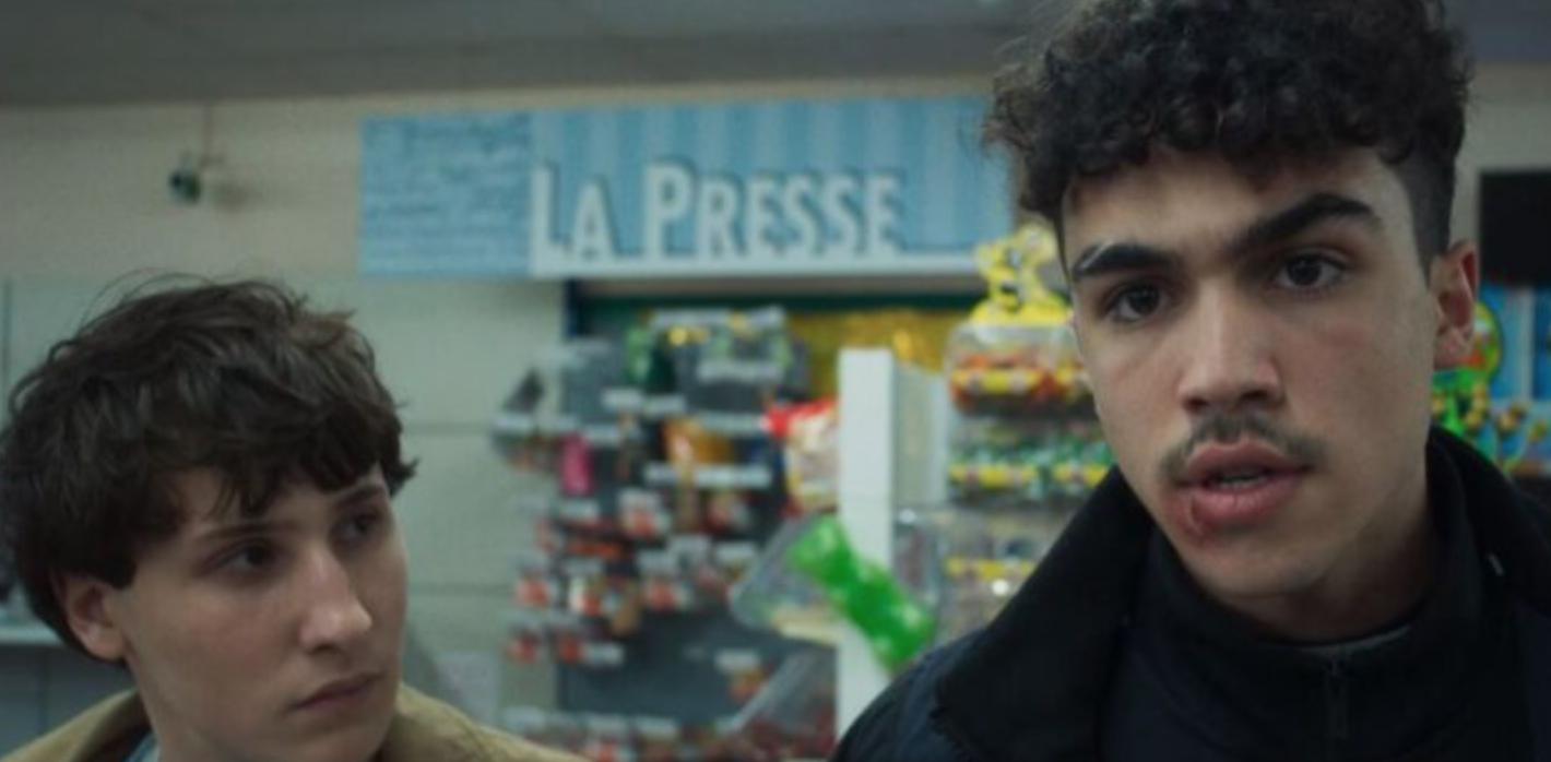 "Carl Malapa as Sofiane and Nemo Schiffman as Victor in the show ""Mortel."""