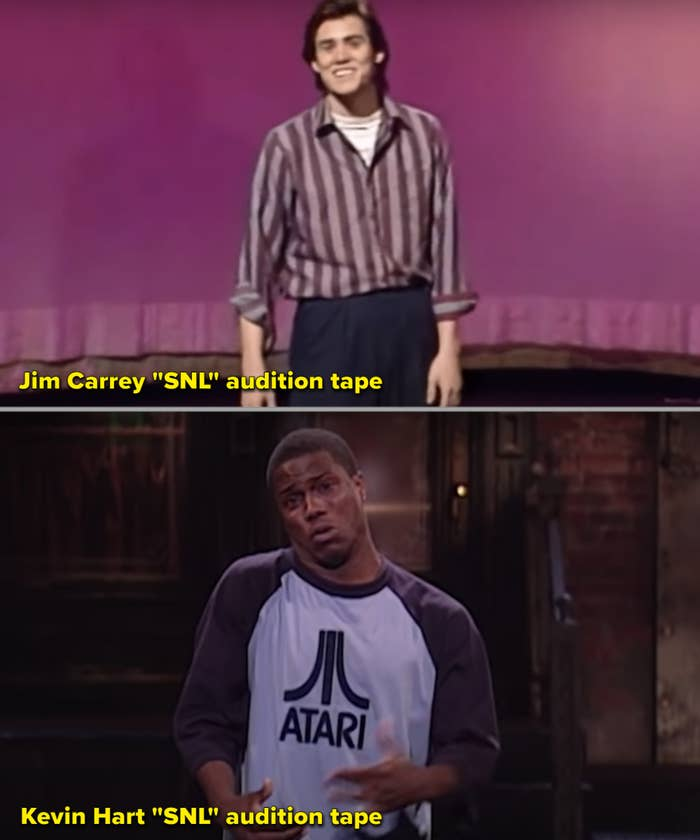 "Jim Carrey and Kevin Hart auditioning for ""SNL"""