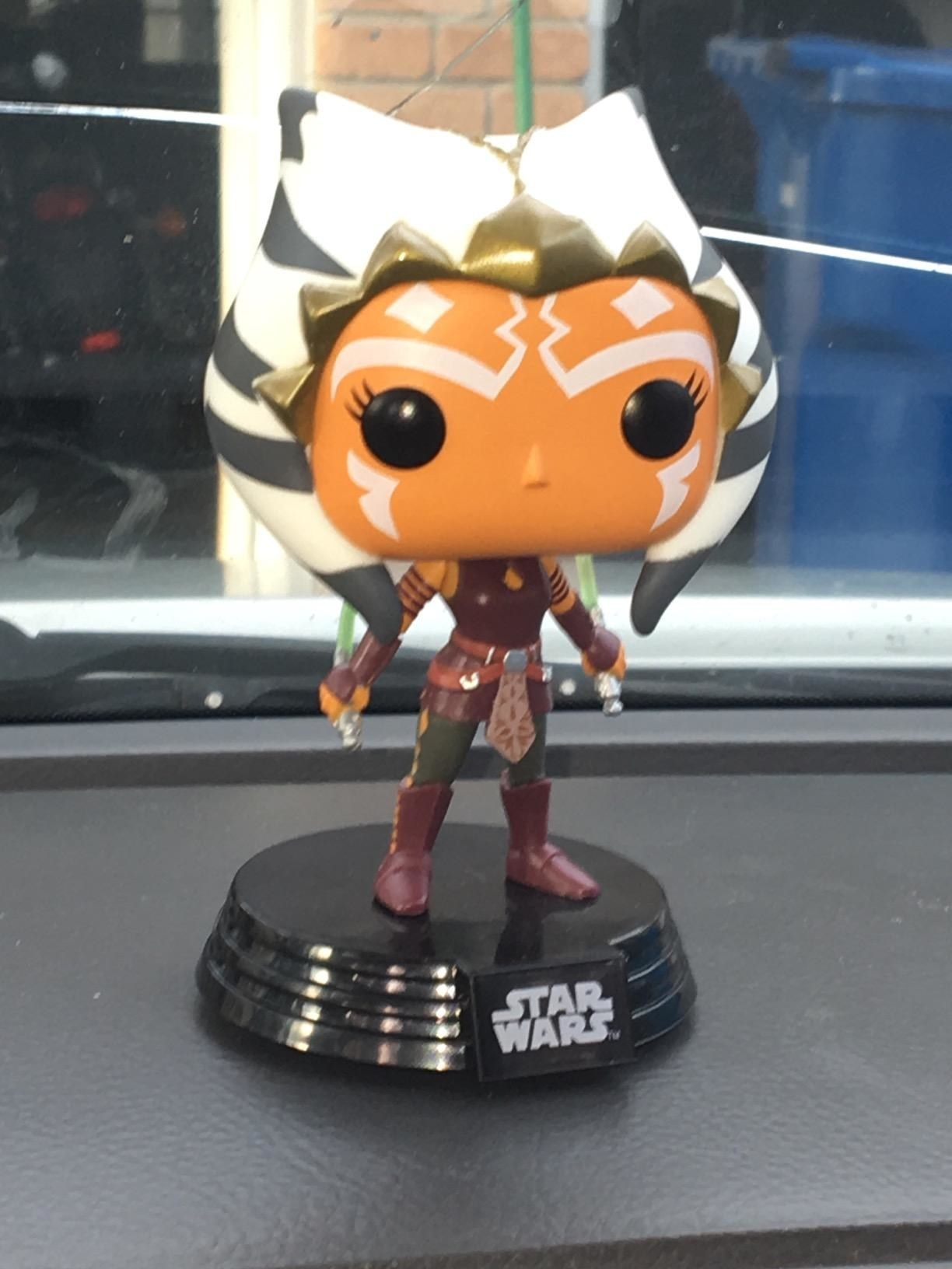 the funko pop figure of ahsoka