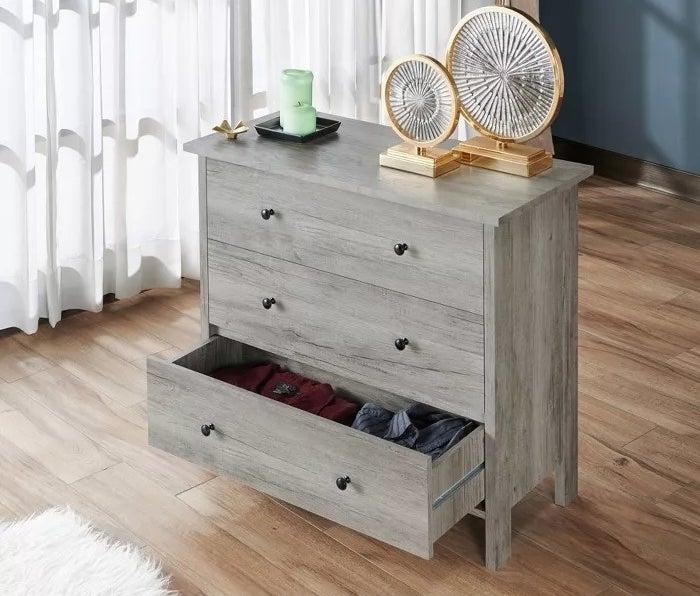 The gray dresser