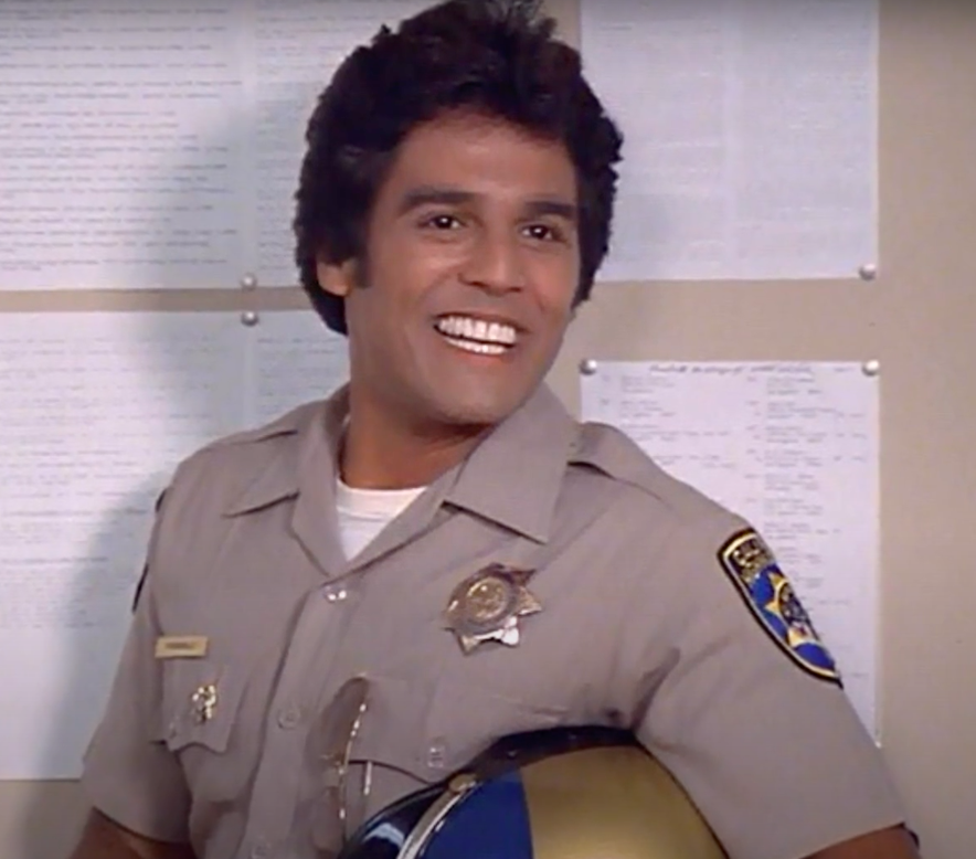 He was also an officer on the show