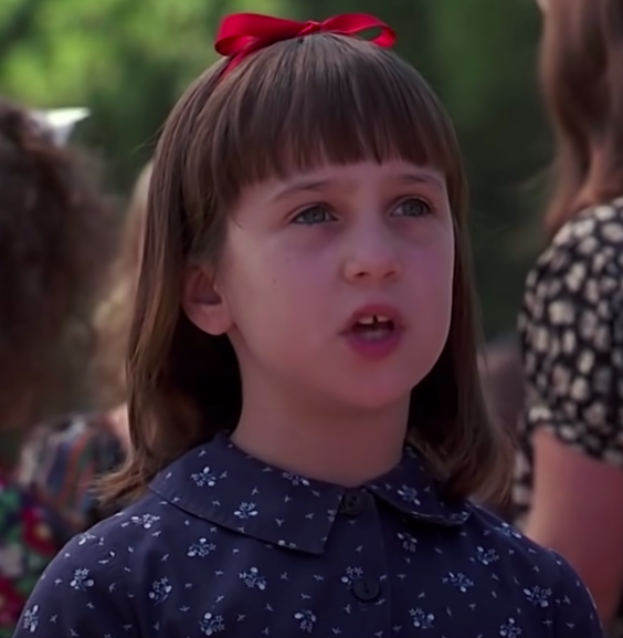 Matilda could move things with her mind