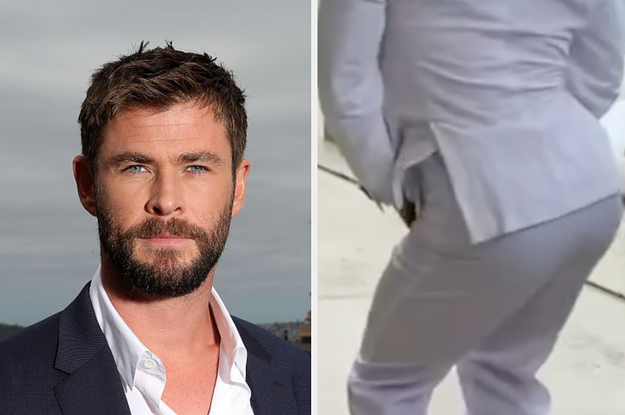 I Am Absolutely Living For This Video Of Chris Hemsworth Shaking His Booty