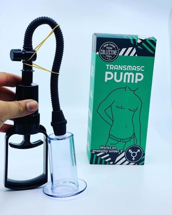 The pump and box