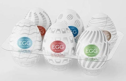 The six-pack of eggs