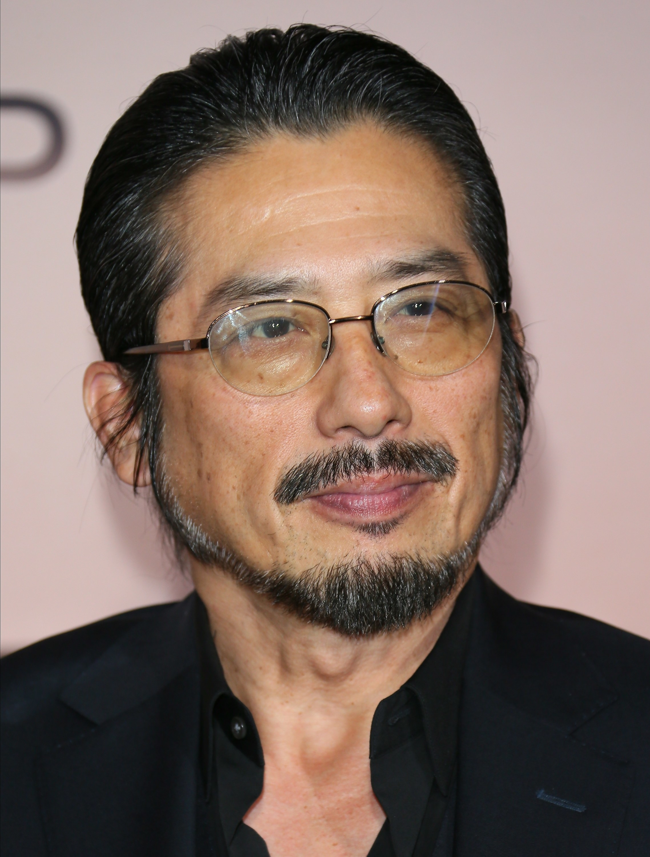 Hiroyuki Sanada on the red carpet