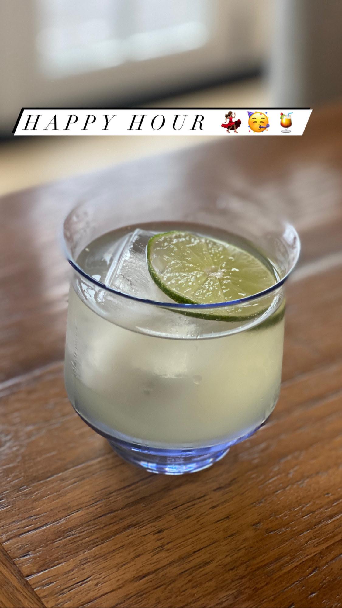 A classic margarita.