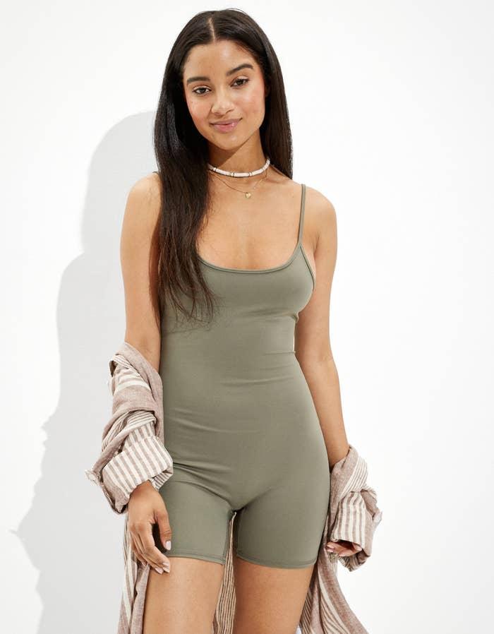 Model wearing jumper