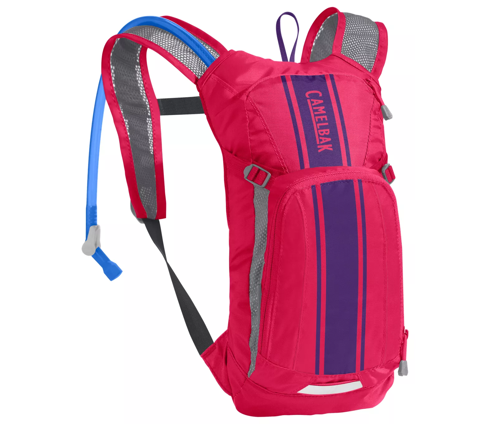 a backpack in pink