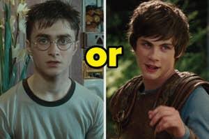 Daniel Radcliffe作为电影中的哈利波特