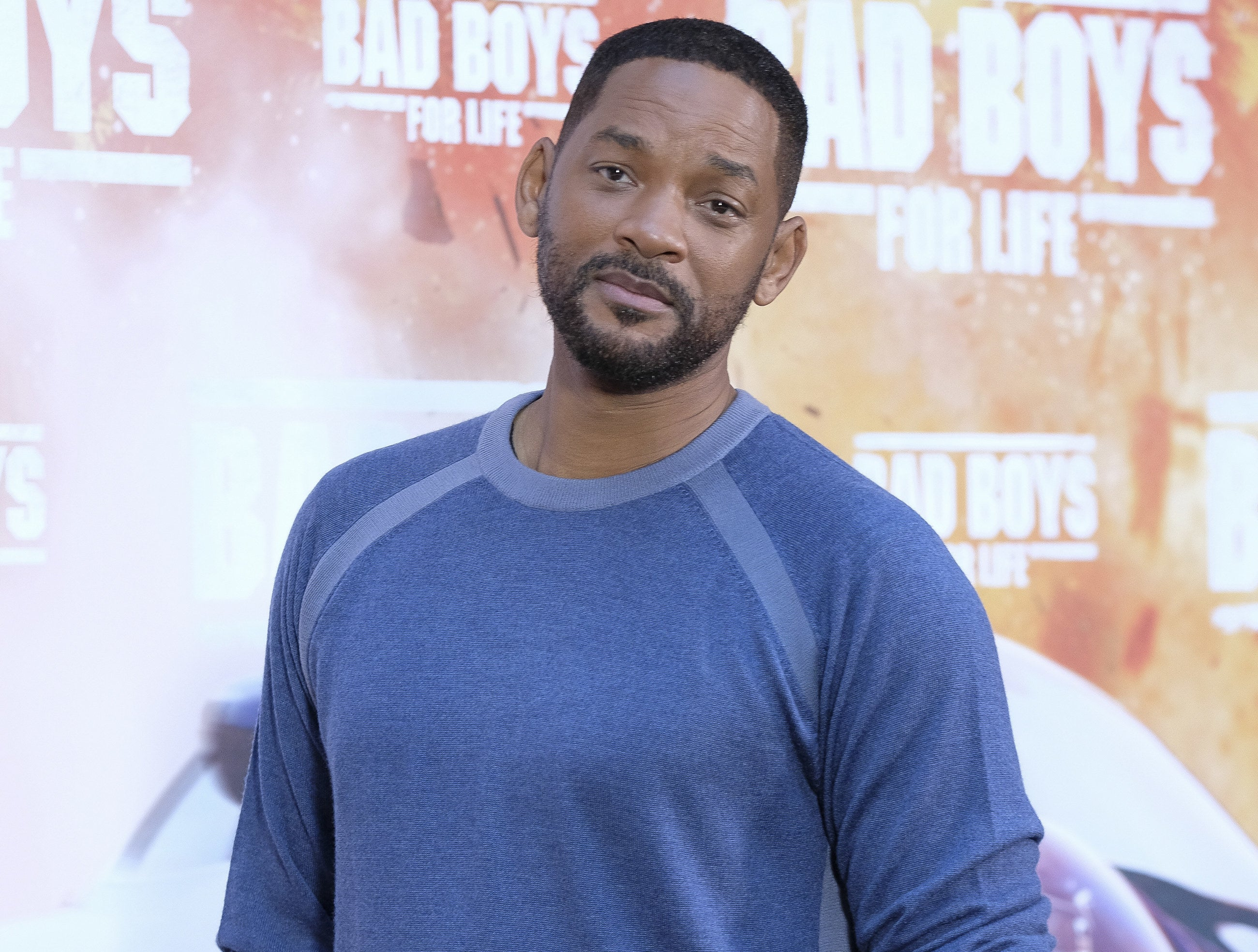 "Will appears on the ""Bad Boys for Life"" red carpet shortly before the pandemic"