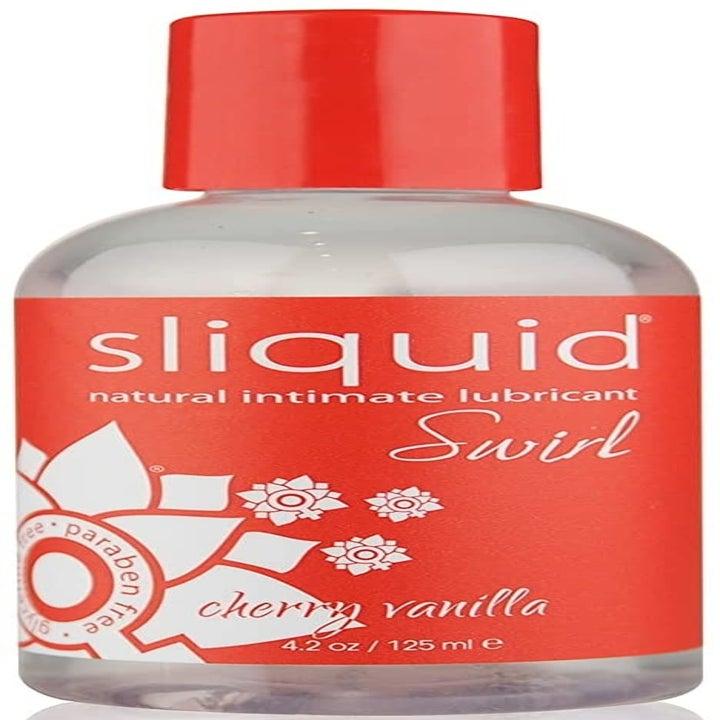 The lube in cherry vanilla