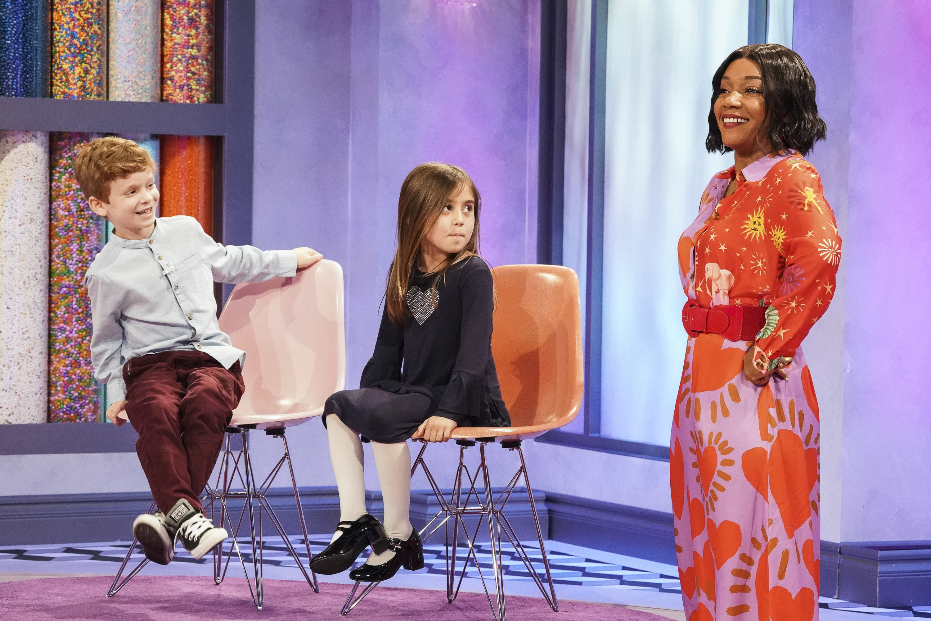 Tiffany hosts Kids Say the Darnedest Things