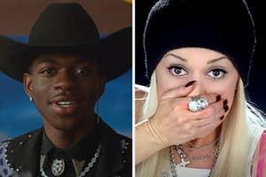 """由Lil Nas X和""""Hollaback Girl""""的""""老城区路""""仍由Gwen Stefani"""