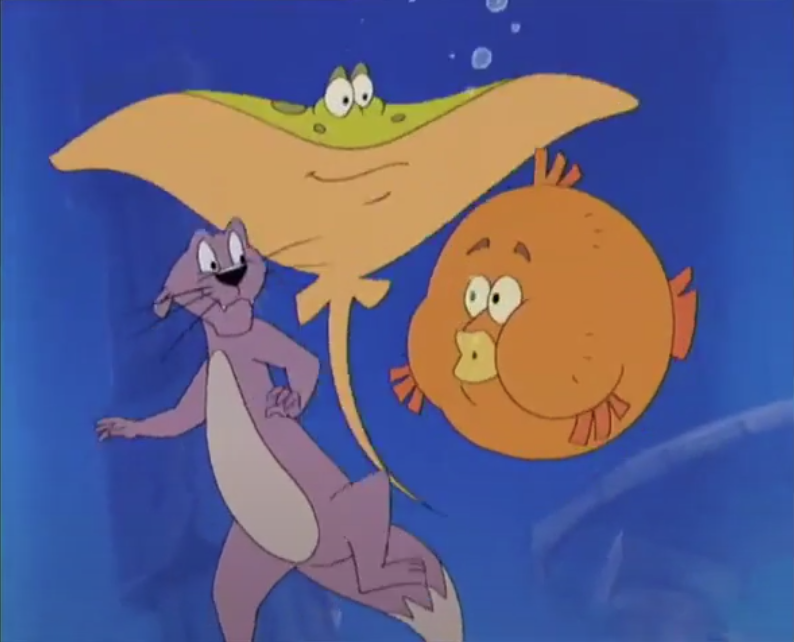 Ottie, Ray and Puffy